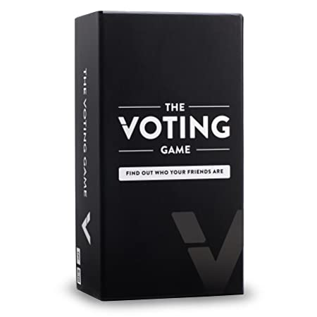 The Voting Game Card Game - The Party Game About Your Friends [200 Cards]