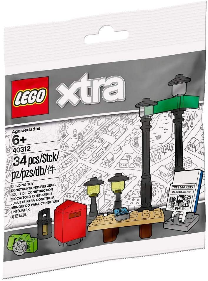 LEGO Street Accessories polybag (xtra) 40312