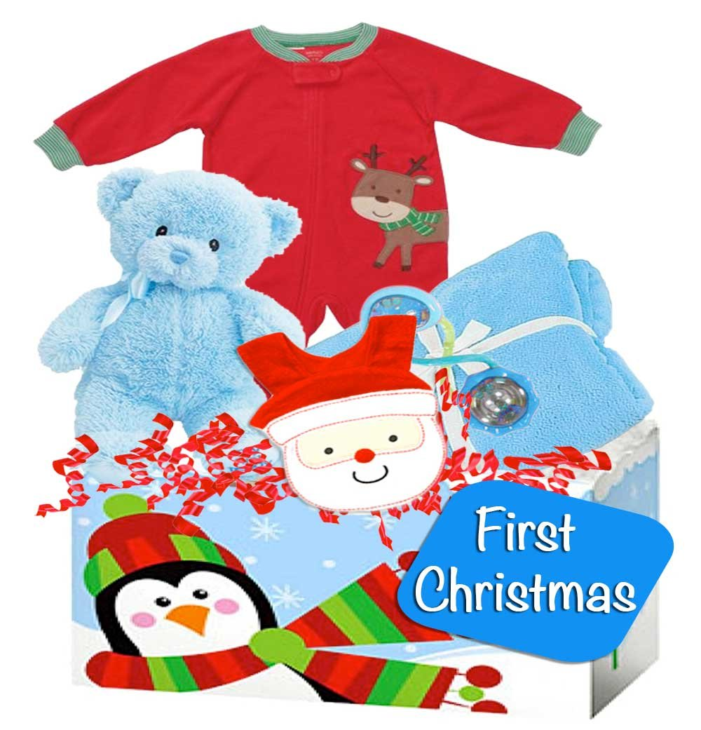 Amazon.com: Baby Boy's First Christmas Gift with Carter's ...