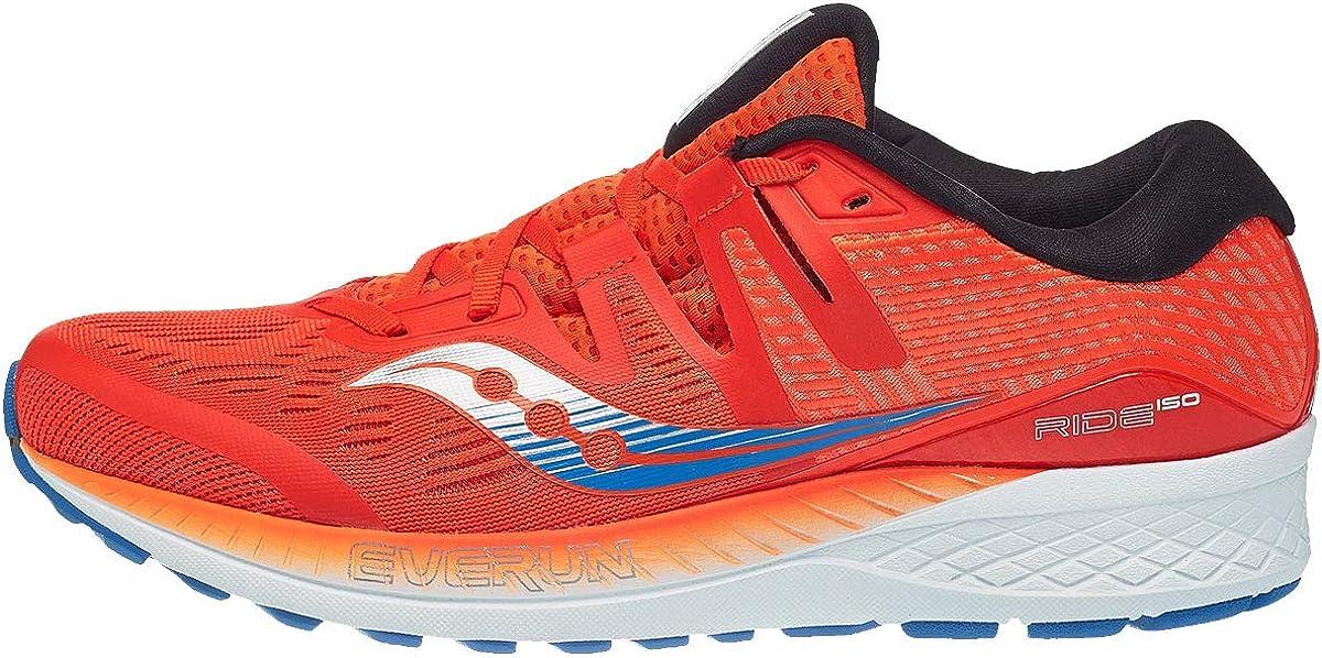 Saucony Ride ISO, Zapatillas de Running para Hombre, Naranja (Orange/Blue 36), 48 EU: Amazon.es: Zapatos y complementos