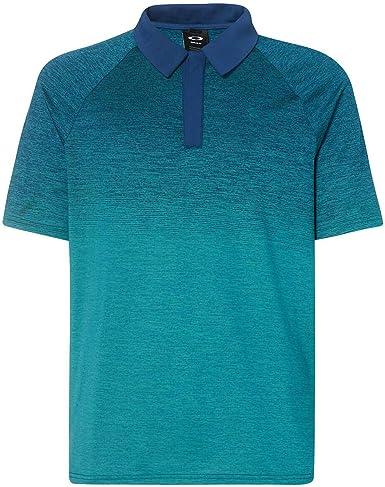 Oakley Mens Four Jack Gradient Golf Polo Shirt