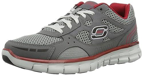 f102e551bec0 Skechers Men s Memory Foam Synergy Over Haul Sneaker (8 UK)  Buy ...