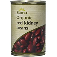 Suma Organic Red Kidney Beans 400 g (Pack of 12)