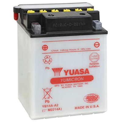 Yuasa YUAM2214A YB14A-A2 Battery: Automotive