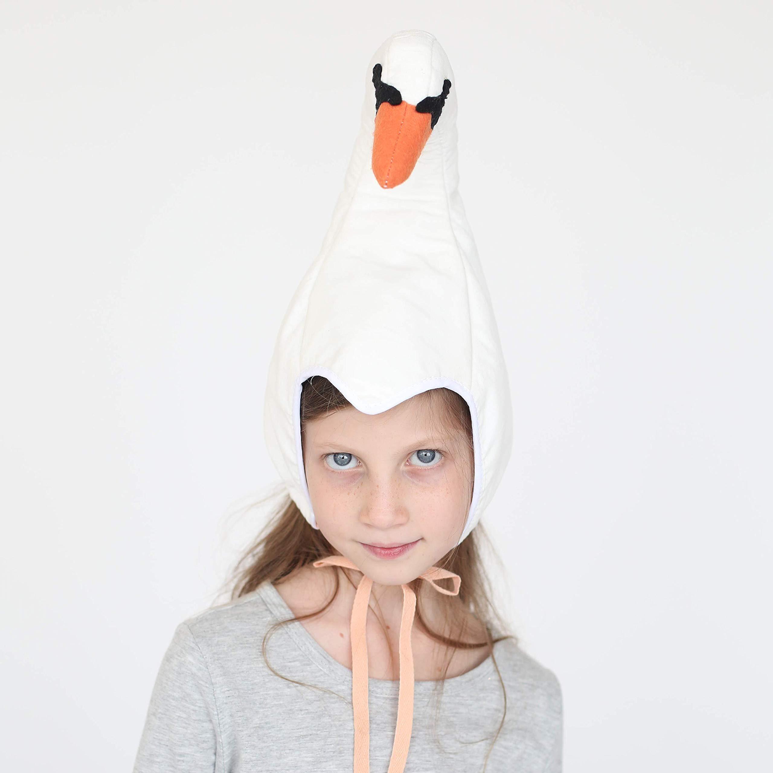 Swan hat for girls
