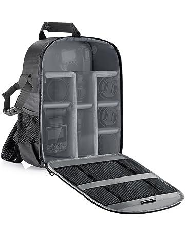 Neewer Mochila para cámara flexible acolchada con separadores con protector antigolpes, para cámaras SLR y