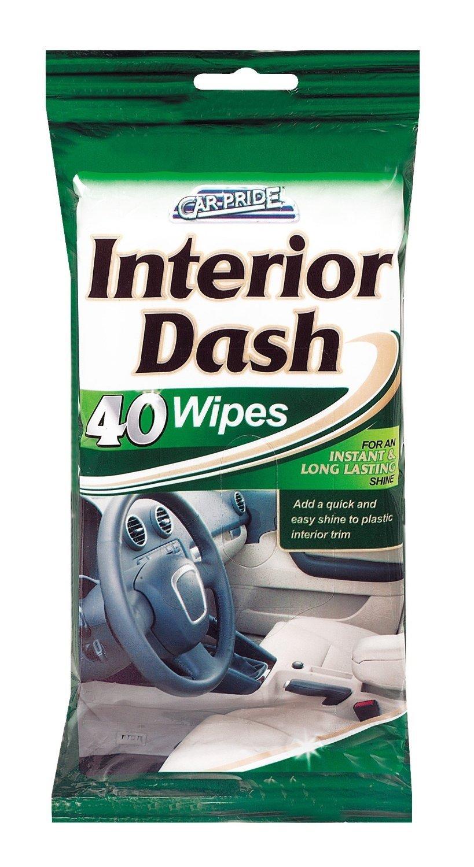 Interior Clean & Shine Wipes - 40 Wipes Car Pride CP008 56577870665