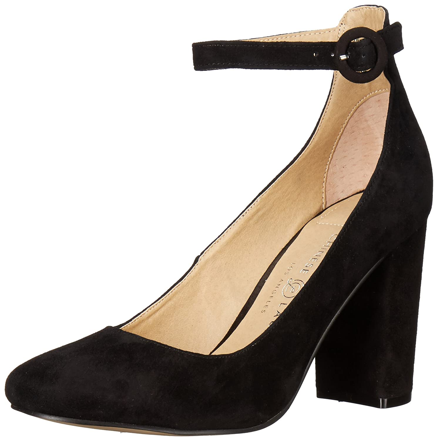 Chinese Laundry Women's Veronika Dress Pump B0713ZH5WQ 6 B(M) US|Black Suede