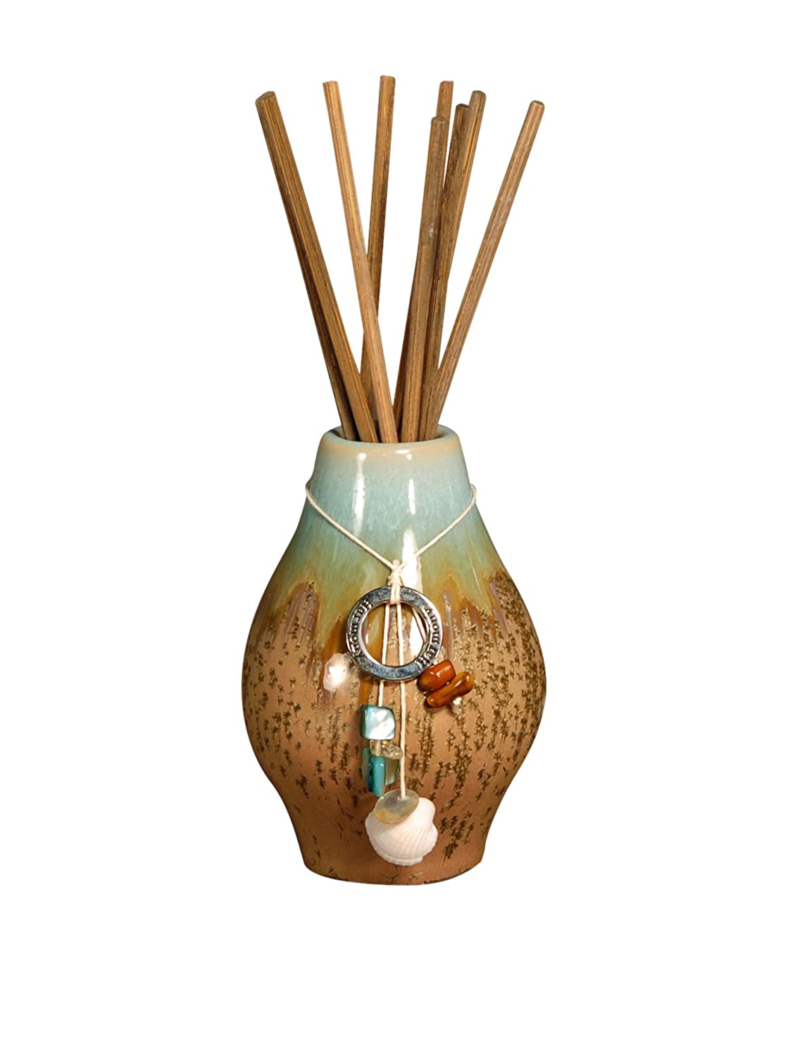 HARMONY TURQUOISE MINI Reed Diffuser Sea Grass Lotus - Pomeroy - San Miguel