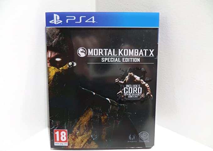 MORTAL KOMBAT X SPECIAL EDITION STEELBOOK with GORO Downloadable ...