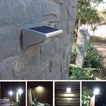 24 LED Bright Solar Power Light Motion Sensor Garden Outdoor Security Wall Lamp