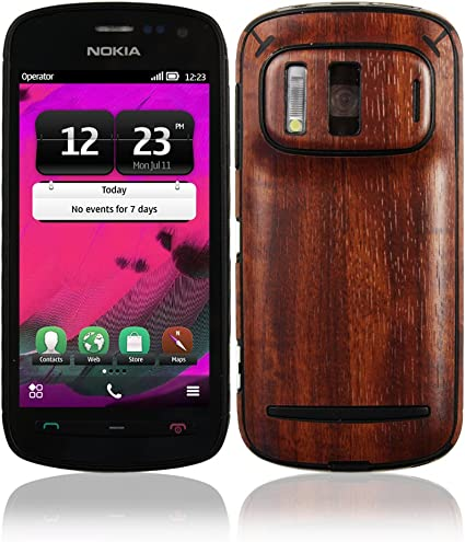 Skinomi Light Wood Full Body Skin Compatible with Nokia Lumia 1020 Full Coverage TechSkin with Anti-Bubble Clear Film Screen Protector
