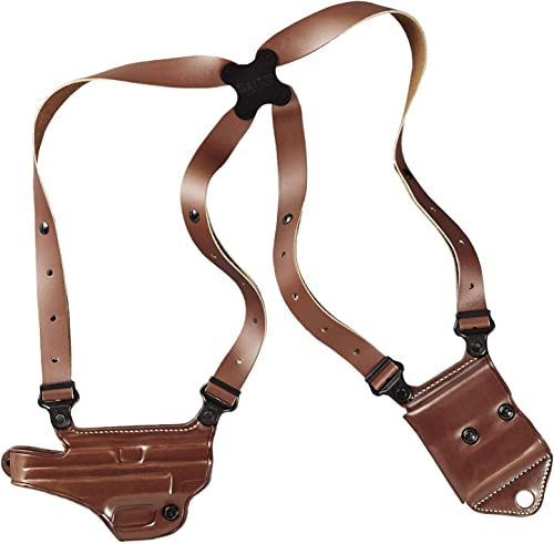 GALCO MCII224 Miami Classic II Right Hand Tan Leather Shoulder Holster