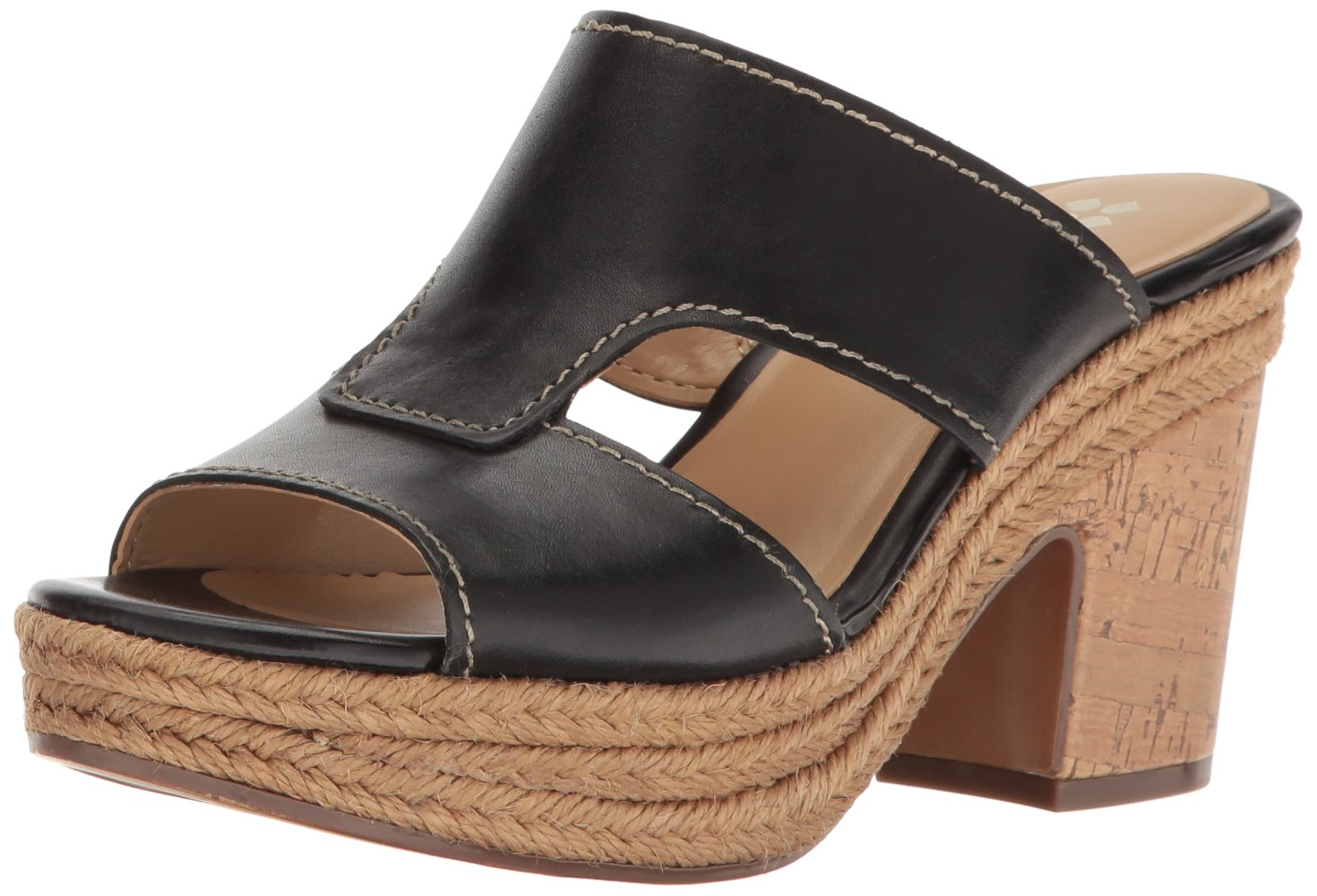 Naturalizer Women's Evette Platform Sandal B01L8MY74S 10.5 B(M) US Black