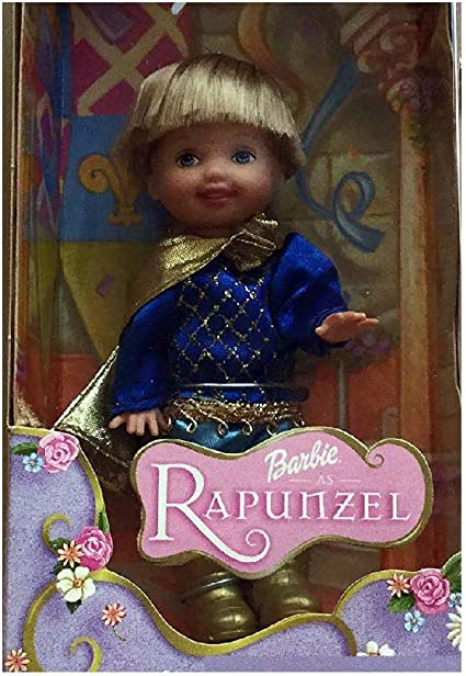Amazon Com Barbie Rapunzel Tommy As The Li L Prince Doll Toys Games