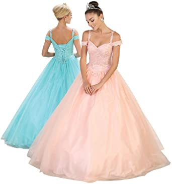 a1309d2890c Layla K LK101 Sweet 16 Formal Quinceanera Gown at Amazon Women s ...