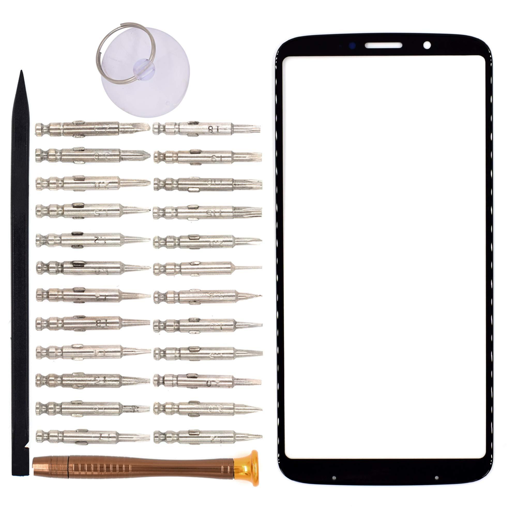 Vidrio Frente Para Motorola Moto Z3 Play Negro [goodyitou]