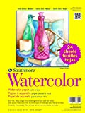 "Strathmore 361-9 300 Series Watercolor, 9""x12"", Cold Press, 24 Sheets per Class Pack"