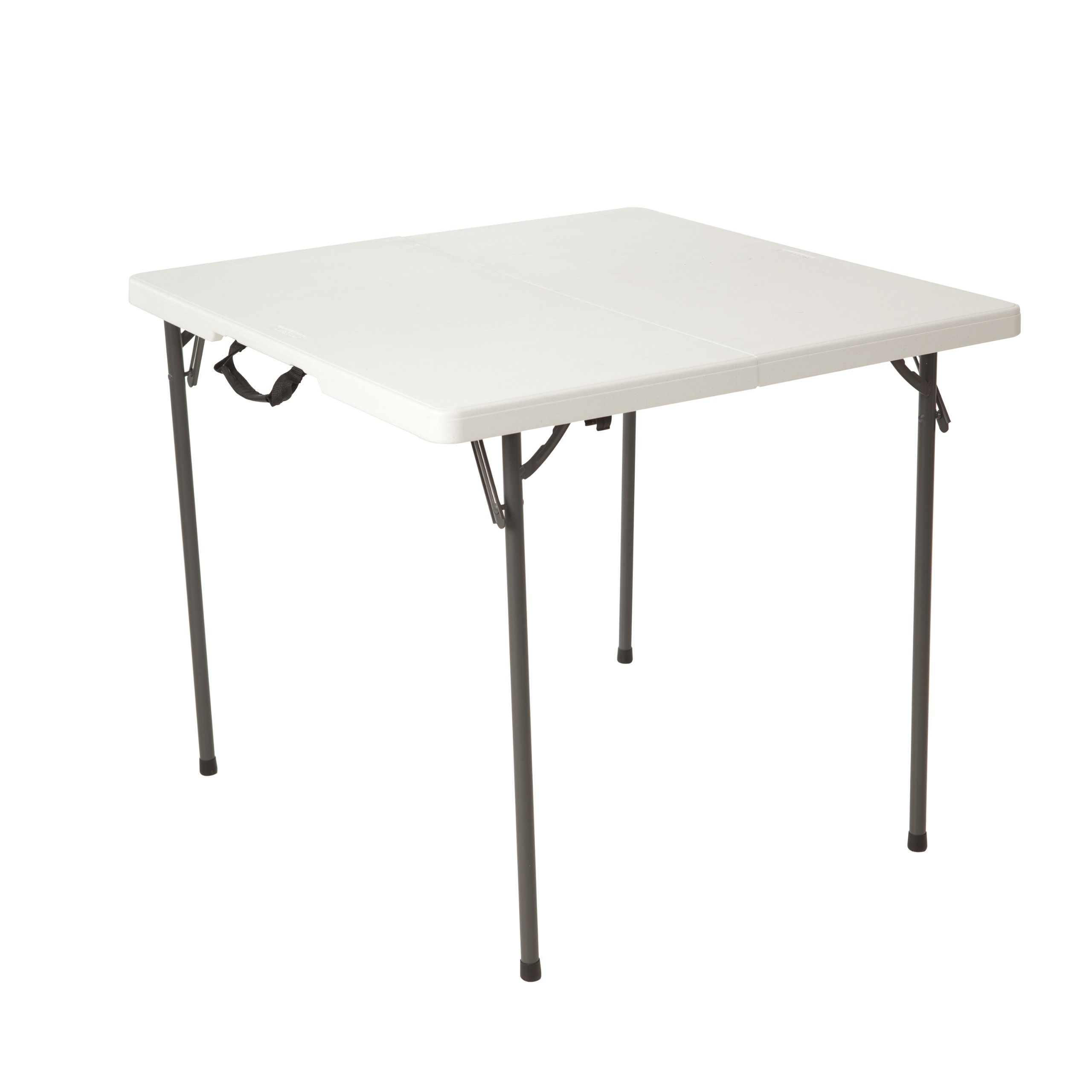Lifetime 80273 Fold in Half Square Table, 34 Inch, White