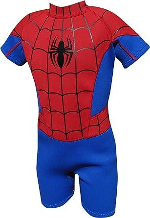 Marvel - Traje de Neopreno Infantil, diseño de Spiderman ...
