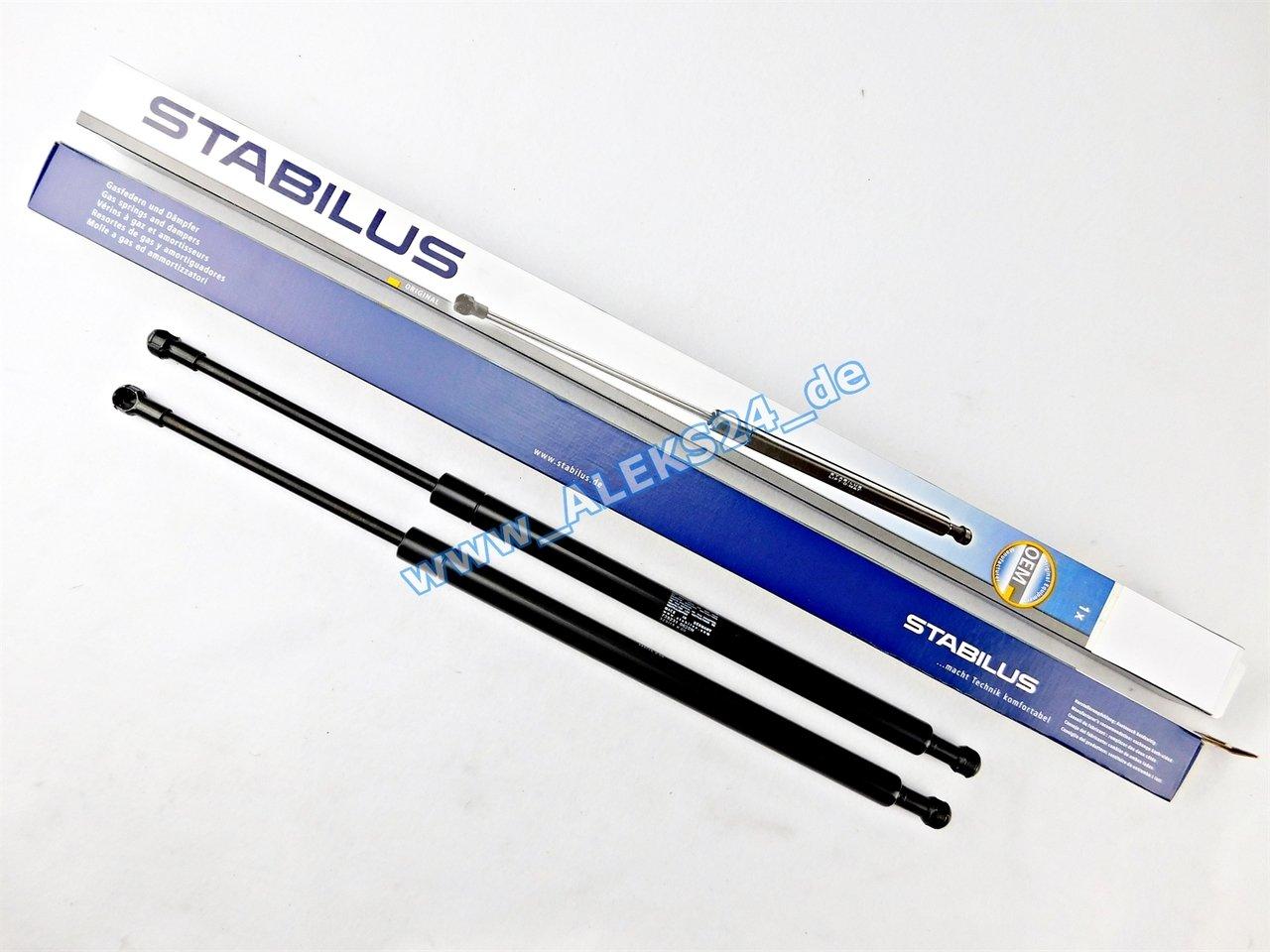 2x STABILUS LIFT-O-MAT LIFTER GASFEDER D/ÄMPFER KOFFERRAUM HECKKLAPPE