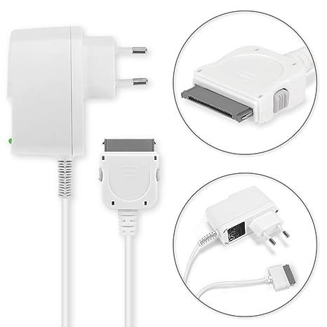subtel® Cargador - 1.5m (2A / 2000mA) compatible con Apple iPad 1 Gen. (A1219/A1337) / iPad 2 Gen. (A1395/A1396/A1397) / iPad 3 Gen. ...