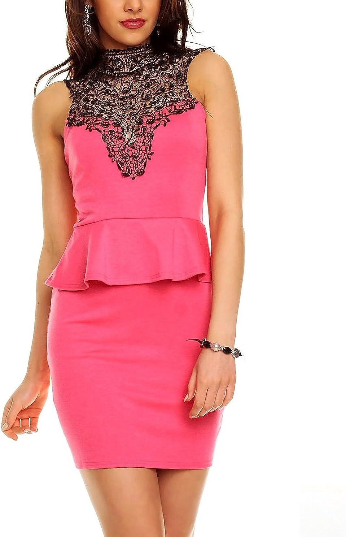 TALLA L. Boliyda Bodycan de corte bajo vestido delgado Slim club vestido informal para las mujeres Rojillo L