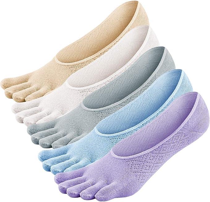 Calcetines 5 dedos algodon
