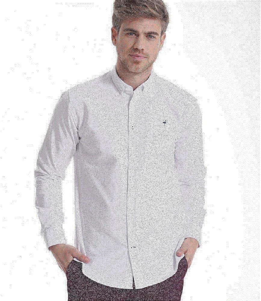 EL FLAMENCO Camisa Blanca: Amazon.es: Ropa y accesorios