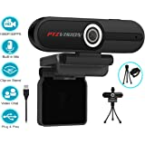 PT-CC20110-G2, 2nd Generation FullHD webcam 1080p Pro Business, desktop-laptop built-in Mic.Plug and Play Computer webcam for Video Calling,Gaming,Conferencing and Distance Learning