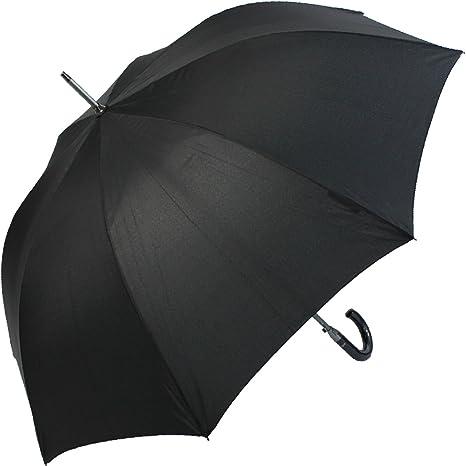 Paraguas Golf Negro Cacharel Mango imitación Fibra Carbono