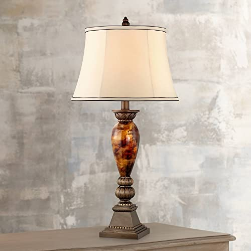 Kathy Ireland Home Mulholland 33 Marbleized Table Lamp