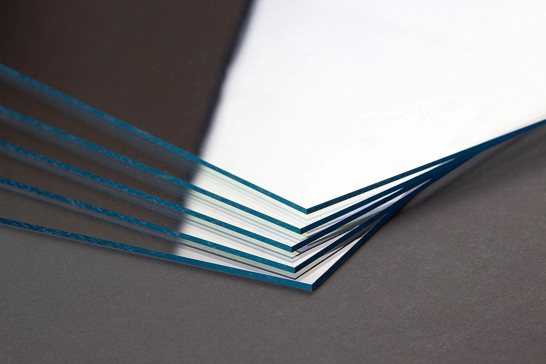 Hier 49x69 cm Homedeco-24 Acrylglas 1 mm klar Platte Zuschnitt in verschiedenen Gr/ö/ßen
