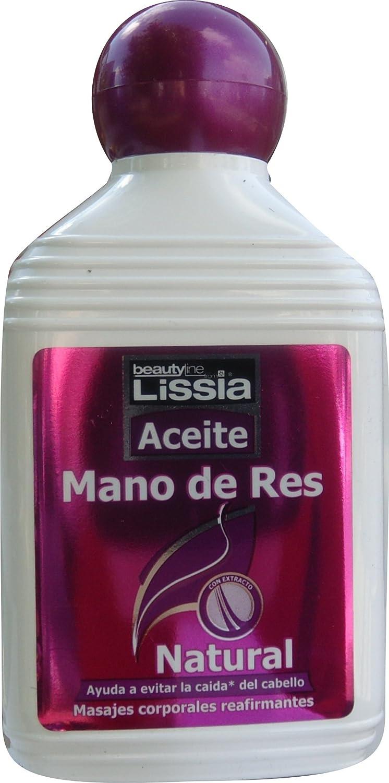 Amazon.com : LISSIA-Aceite mano de res, engrosador del cabello, humectante y recuperador. Aumenta el volumen del busto, la cola y pantorrillas 235ml/7.99oz ...