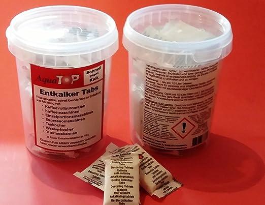 Top pastillas descalcificadoras 20 unidades de 16 G para todas las ...