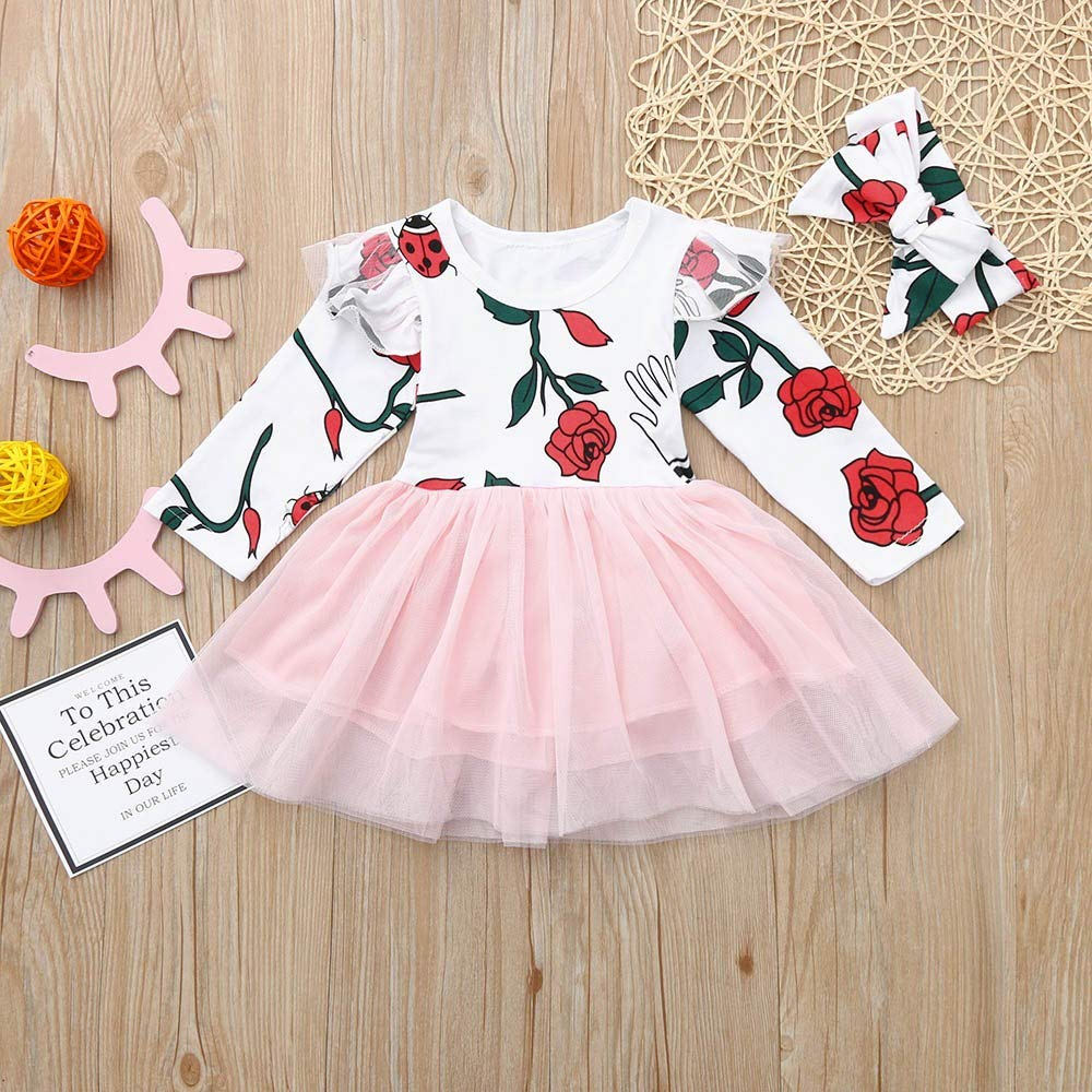 Amazon.com: Autumn Girls Outfits, Fineser Toddler Infant Baby Girls ...