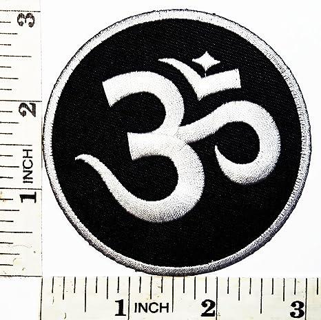 Aum símbolo de OM Yoga hindú infinity parche chaqueta ...