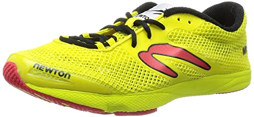 NEWTON MV3 Lightweight Performance Racer Zapatilla de Running Caballero, Amarillo, 39.5