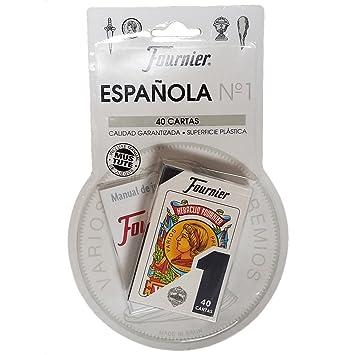 Set de 40 Fournier español Naipes Tuck Case con mus - Tute ...