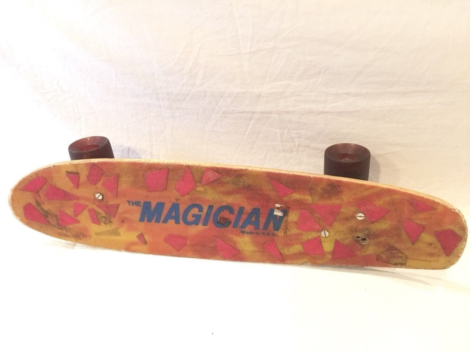 Road Rider The Magician Vintage Skateboard With 4 Wheels ACS-430 Nash Trucks USA by Road Rider