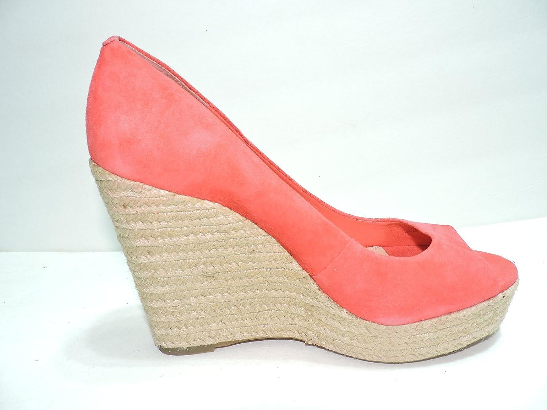771cd3e1a46 Amazon.com | Vince Camuto Womens Totsi Coral Suede Wedge Platform ...