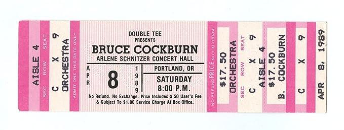 Bruce Cockburn Arlene Schnitzer Concert Hall Portland Apr - Arlene schnitzer tickets