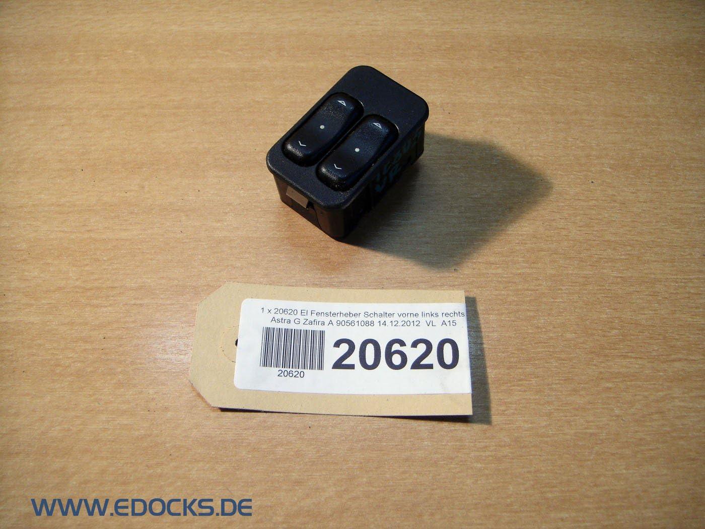 Opel Astra G Fensterheber Schalter GM 90561088