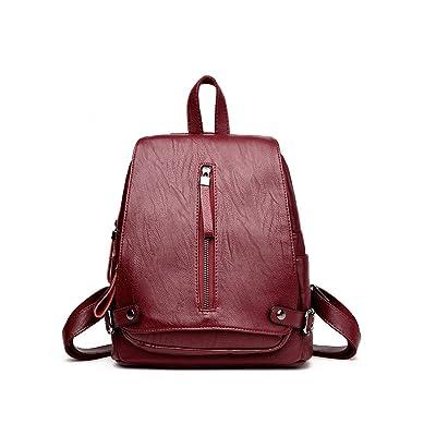 Nouvelle tendance européenne et américaine 20L pour les jeunes Voyage sac à dos souple en cuir PU sac en plein air, tir de la rue, shopping