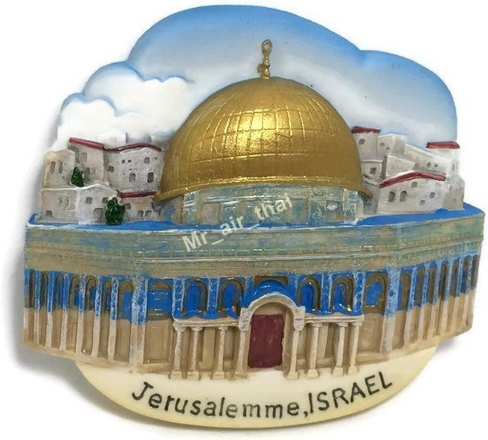 Dome of the Rock Jerusalem Israel High Quality Resin 3d Fridge Magnet SOUVENIR TOURIST GIFT 063