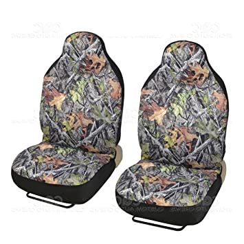 Front Camo Seat Covers