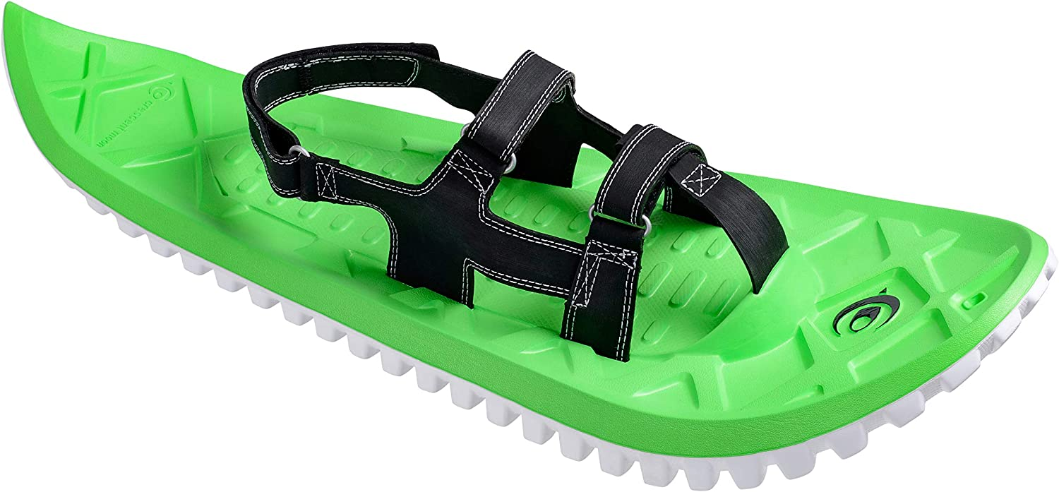 Crescent Moon EVA All-Foam Snowshoes (Green | Icespikes)
