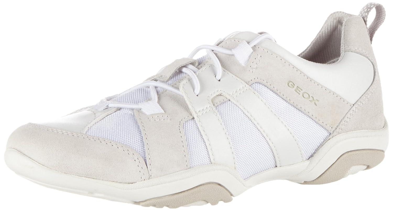 Blanc (blancc1000) Geox D Arrow C, paniers Basses Femme