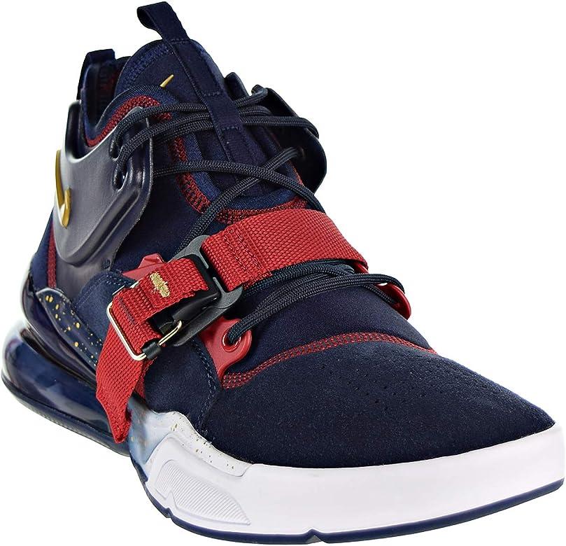 Nike Air Force 270 Team Red Schuhe Herren Basketball Schuhe