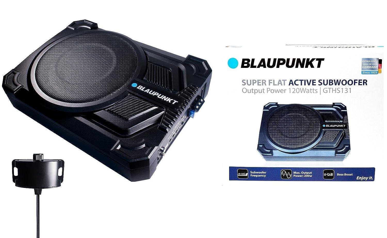 "Amazon.com: BLAUPUNKT GTHS131 200W 8"" CAR UNDER SEAT SUPER SLIM POWERED  SUBWOOFER ENCLOSED: Car Electronics"